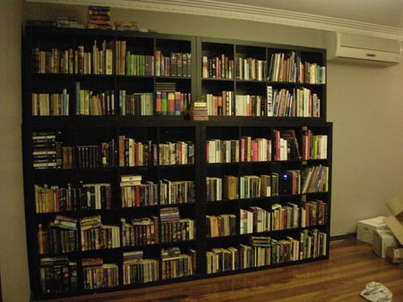 Yowsers, I has alot of books.